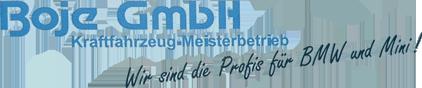 Boje GmbH KFZ-Meisterbetrieb - Logo